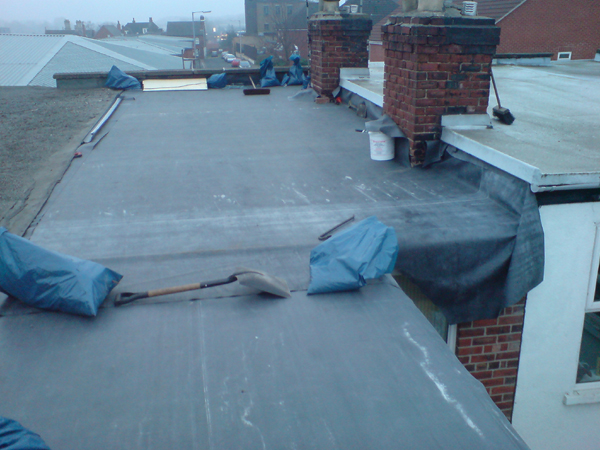 Rsj Roofing Gallery Firestone Flat Roofing Specialists
